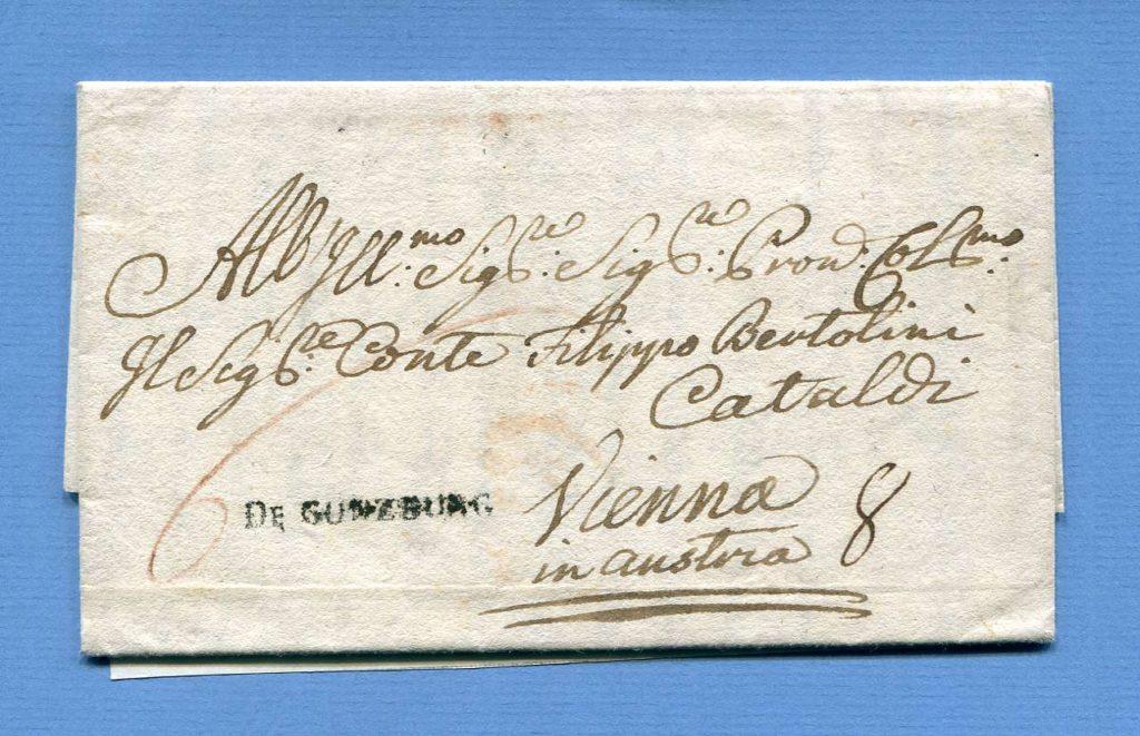 27.5.1774 – Günzburg => Wien – Vorderösterreich
