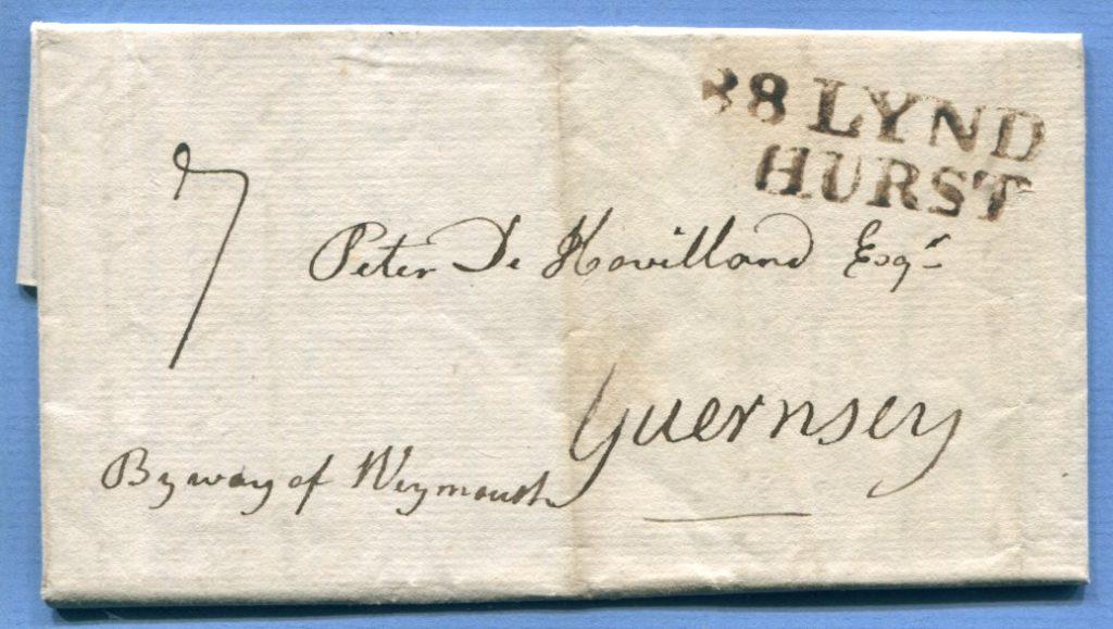 23.7.1794 – Brockenhurst => Guernsey – (L2) 88 LYND / HURST