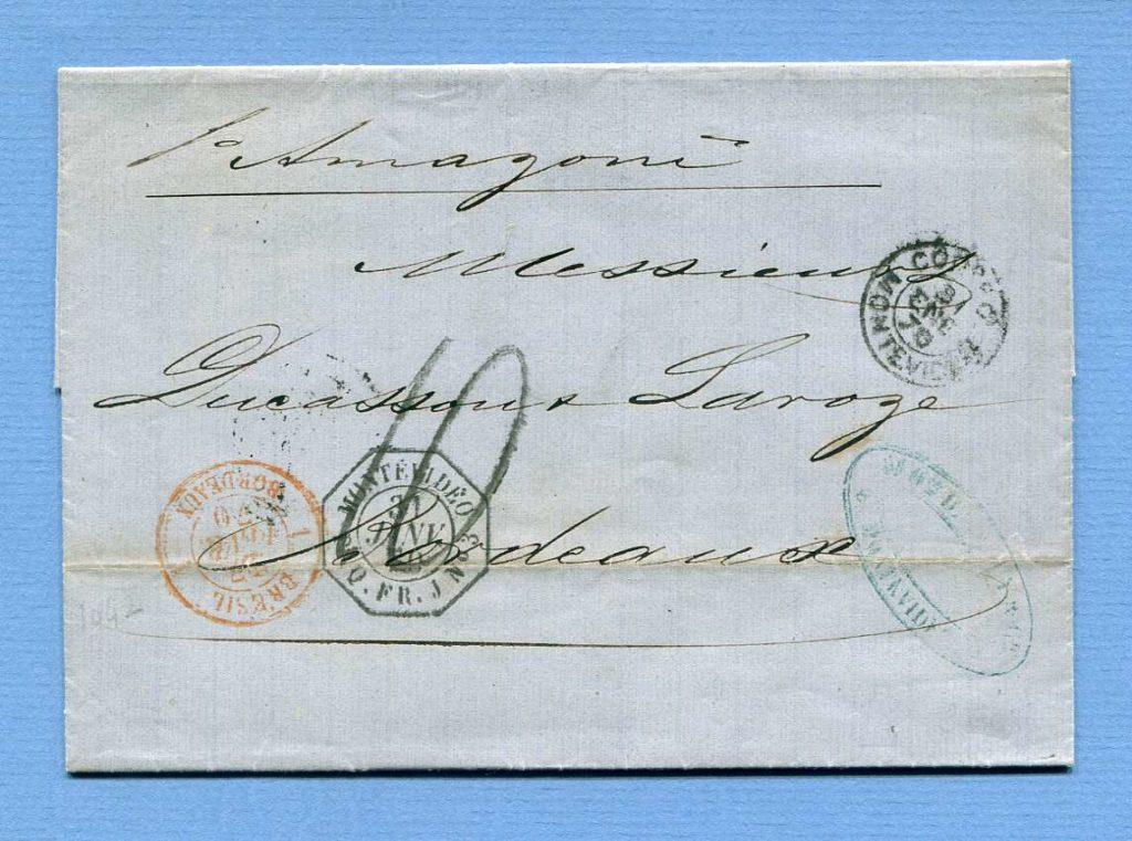 30.1.1870 – Montevideo => Bordeaux (Frankreich)