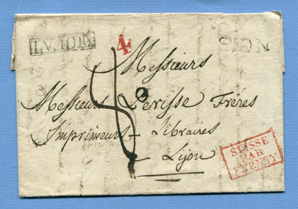 8.5.1846 – Sion / Sitten => Ferney => Lyon (Frankreich)